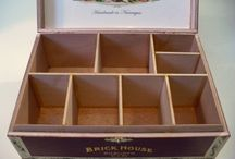 Cigar Boxes...how I love you so! / by Wasamkins