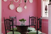 I Want A Pink Room / I have wanted a pink room for years. I'm having trouble deciding which pink and which room.  / by Nancy Thomas