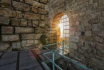 Аджлунский замок / Замок распологается на северо-востоке Иордании