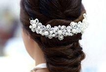 Bridal Hair Accessories / Wedding Hair Accessories Hair Pins Hair Comps Bridal Tiara Wedding Tiara Swarovski Crystal Tiara Vintage Bridal Combs Hand Made Hair Accessories