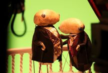 puppets and sets for film