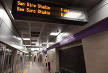 Metro Lilla - nuove stazioni metropolitane / Mapei ha fornito additivi e malte per la realizzazione dei tunnel delle nuove stazioni della Lilla