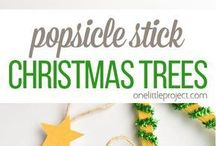 Christmas tree popsicle st