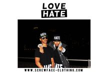 Screwface Love Hate / http://www.screwface-clothing.com