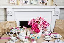 Remake table / teacup, vintage, plate, teapot,diner, photos by Milena Rakocevic