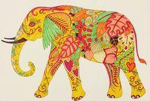 Magical Jungle / My colouring from Johanna Basfords Magical Jungle