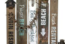 Decor: BEACH style / Wishing you were at the beach? This collection of upcycled, recycled beach interior and exterior design, rustic style will have you feeling you are! / by Funky Junk Interiors