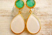 Earrings I love / Earrings from Evangelos Jewellery Etsy Shop