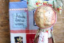 julie arkell / figuren van papier mache