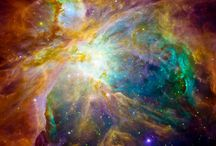 Cosmic Clouds / Celestial formations - the clouds of the cosmos