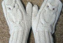 Вязание. Варежки, перчатки, митенки. / Вязание