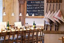 Restaurant | Bar | Café Interiors / by Ana AC