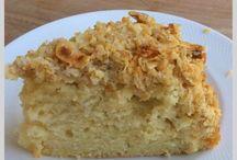 Spelt cake / Speltcake met kokoscrunch