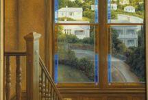 Thru the window - Door