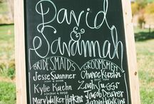 Chalkboard / Chalk it up to the chalkboard trend! Ideas, inspiration, and invitations with a chalkboard theme.