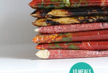 Make Ahead Freezer Meals / Meal planning and preparation. Make ahead meals & freezer meals.