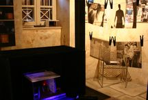 """Scenography exhibition 2013 / Construction and presentation stage design study based on the work of Harold Pinter: """"Old Times"""""""
