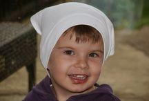 šátek dívčí letní