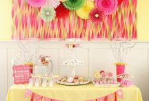 Party Decorations and Ideas / Lots of ideas for parties / by Cassie Brumbaugh