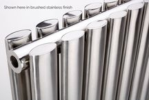 Stainless steel radiators / For the ultimate statement in style: stainless steel radiators and towel rails not only look great but are also perfect for bathrooms or wet rooms, thanks to being completely resistant to corrosion.