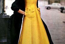 Mode langs Kleid