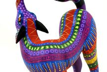 Alebrijes / Mexican Folk Art Sculptures