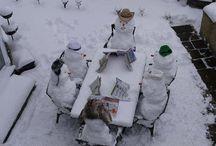 Jul, Vinter og sne / Familie hygge