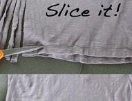 régi póló átalakítása