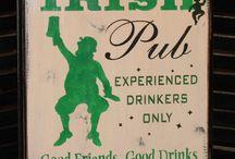 irish pub .