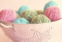 Yarn Obsession / by Crafting with Cat Hair