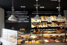 Interiores de pastelerias