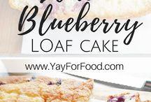 Blueberry. cake