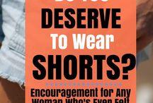 Modesty & Fashion Tips / Modesty and Fashion Tips
