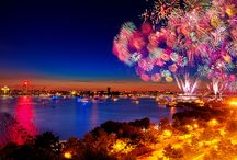 * Feuerwerk *