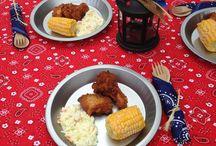 Southern ho-down BBQ ideas