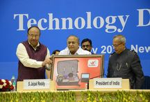 Technology Day 2013 / President of India Pranab Mukharjee and Minister of Science & Technology S Jaipal Reddy introduced Innovative Mobile Lab to the Nation on Technology Day 11 May 2013