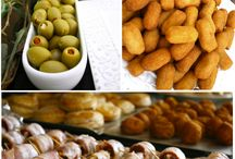 Spanish food savory / Just savory and delicious spanish food