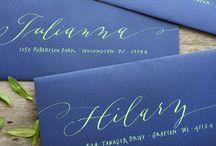 Calligraphy & Lettering / #calligraphy #lettering / by PhotoTypeGirl