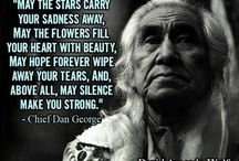 Native American sayings...