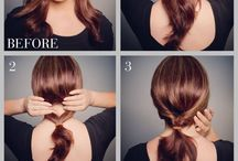 easy updos for work.