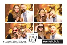 Luxe Interior & Design Gold List 2016 with Roche Bobois / NYC Photo Booth