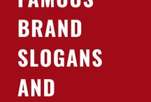 Famous Brand Slogans and Taglines