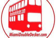 Miami double Decker City Map / Miami City Tour