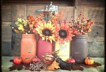 fall / Autumn decorating ideas