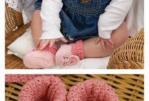Crochet baby bunny set