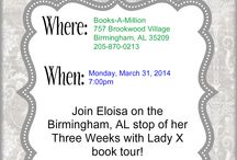 Meet Eloisa in Person! / by Eloisa James