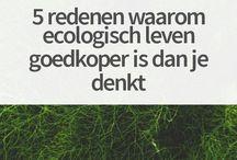 Ecologisch leven