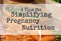 """Pregnancy Nutrition / When you're pregnant, eating healthy foods is more important than ever. You need more protein, iron, calcium, and folic acid than you did before pregnancy. You also need more calories. But """"eating for two"""" doesn't mean eating twice as much. It means that the foods you eat are the main source of nutrients for your baby. Sensible, balanced meals will be best for you and your baby."""