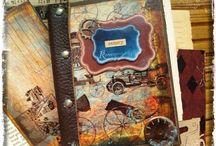 For men only. Мужские штучки / Подарки для мужчин в технике декупаж и скрапбукинг. Decoupage & scrapbooking Сделано с использованием продукции C.H.E.A.P.-Art