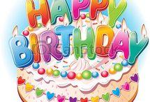 Pastel de cumpleaños / Pastel